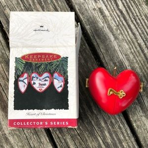 Hallmark Heart of Christmas Ornament 4th in Series